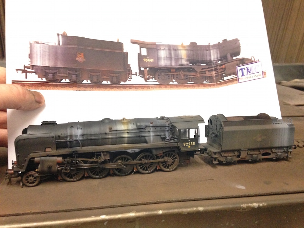 9F Weathered Similar to a WD the Customer Liked