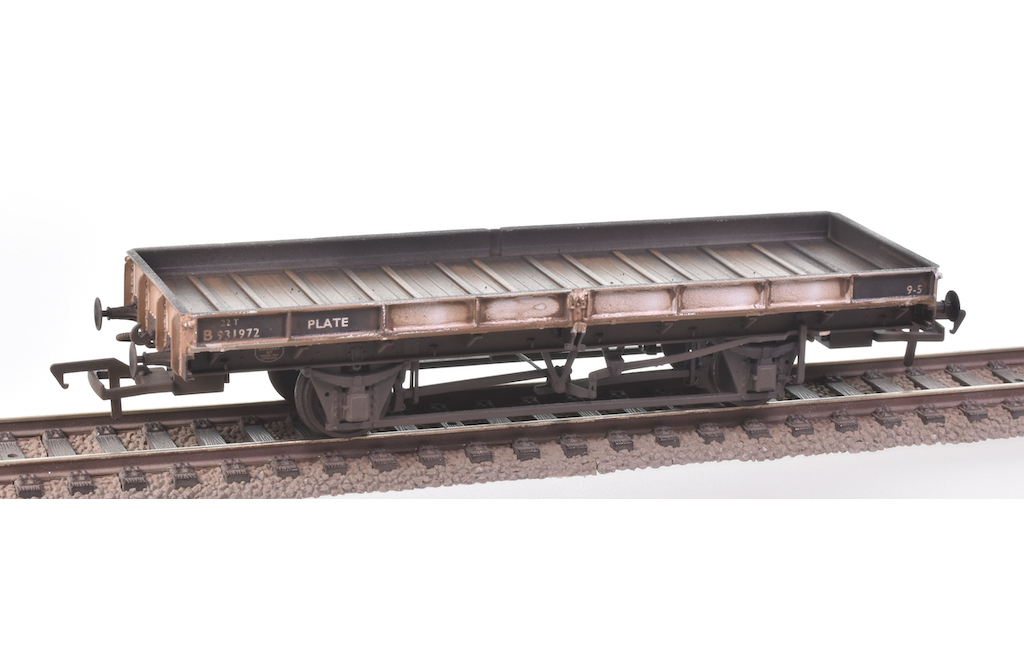 Renumbered Plate Wagons
